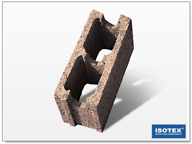 ISOTEX - BLOCCO CASSERO IN LEGNO CEMENTO HB 20