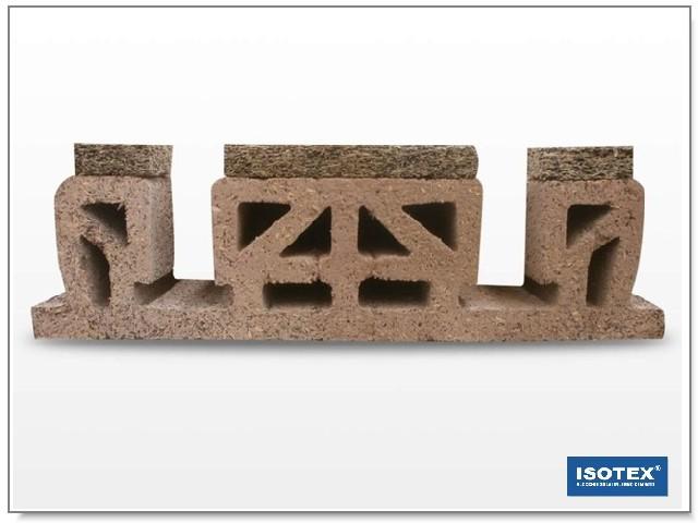 ISOTEX - ELEMENTO SOLAIO IN LEGNO CEMENTO S30
