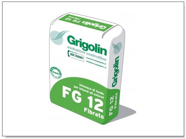 FG 12 Intonaco di fondo per interni ed esterni. GP-CSII-W0 secondo norma UNI EN 998-1
